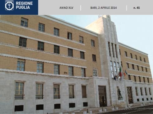 Delibera della regione Puglia sulle priorità nelle prenotazioni mediche.
