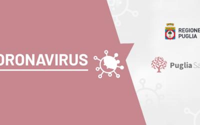 Regione Puglia – Vaccinazioni ANTICOVID, Aggiornata Sezione sul Portale Istituzionale